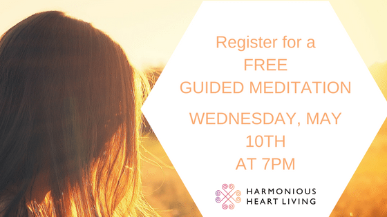 REGISTER FOR FREE GUIDED MEDITATION