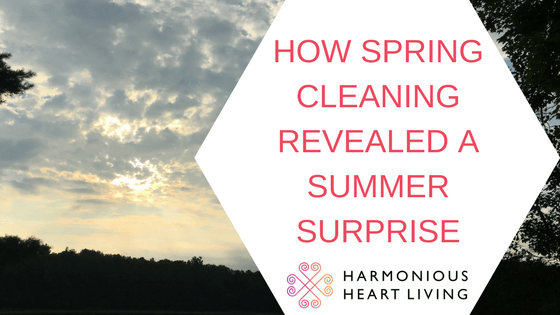 HOW SPRING CLEANING REVEALED A SUMMER SURPRISE